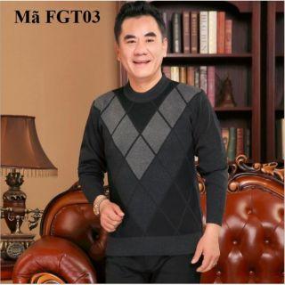 Áo len nam cho người lớn tuổi FGT03