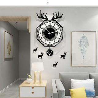 Đồng hồ treo tường quả lắc CL017 – phong cách Bắc Âu