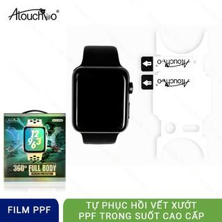 [Mã ELFLASH5 giảm 20K đơn 50K] Miếng Dán PPF Cao cấp cho Apple Watch Hãng Atouchbo