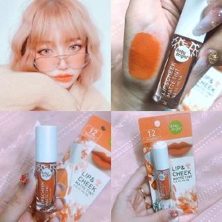 [Hàng mới về] Son môi dạng lỏng Baby Bright Lipstick Cheek & Lip Matte