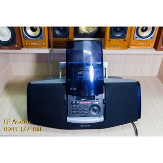 Đài, máy nghe nhạc bombox Sharp MD-F1-S made in Japan