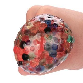 Đồ chơi bóng cầu vồng nhiều màu sắc giải tỏa căng thẳng lens