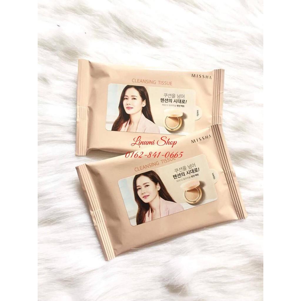 Khăn giấy tẩy trang Missha cleansing tissue - 21488168 , 111258458 , 322_111258458 , 20000 , Khan-giay-tay-trang-Missha-cleansing-tissue-322_111258458 , shopee.vn , Khăn giấy tẩy trang Missha cleansing tissue