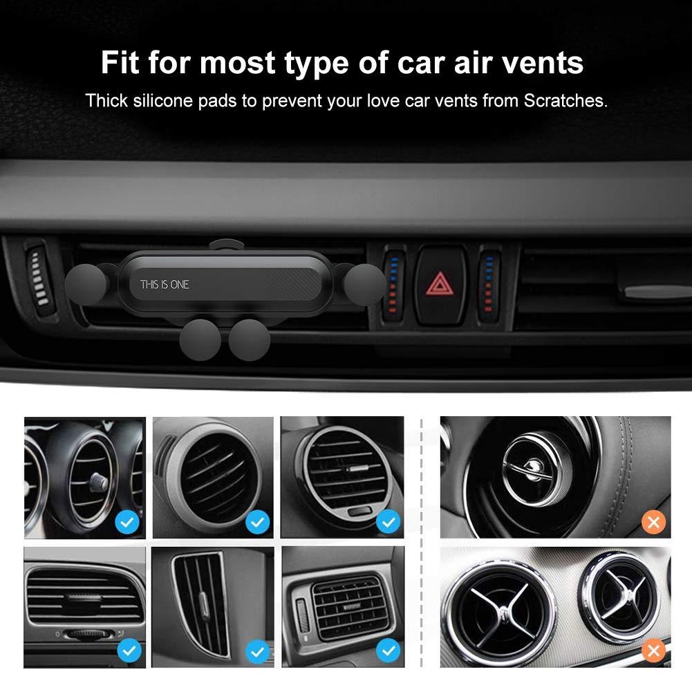 Kẹp giữ điện thoại gắn lỗ thông gió xe hơi tiện lợi