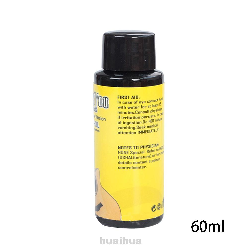 Cleaning Cloth Crack-proof Effective Guitar Fretboard Luster Restore Nursing Lemon Oil Set