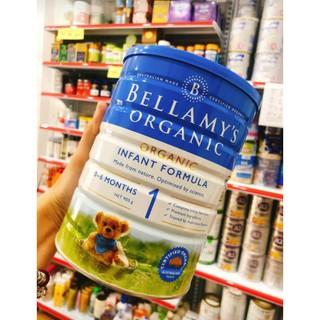 Sữa Bellamy Organic số 1 [100% air]