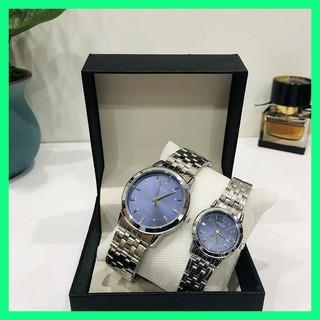 Đồng hồ đôi cặp nam nữ Halei giá 1 đôi chống nước tặng pin thumbnail