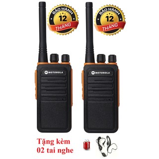 Bộ 2 Bộ đàm Motorola GP900S(Loa chống bụi, Dung lượng pin cực lớn >12 tiếng, cự ly liên lạc xa, siêu bền)