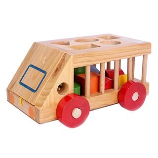 Đồ chơi gỗ Ô Tô Thả Hình