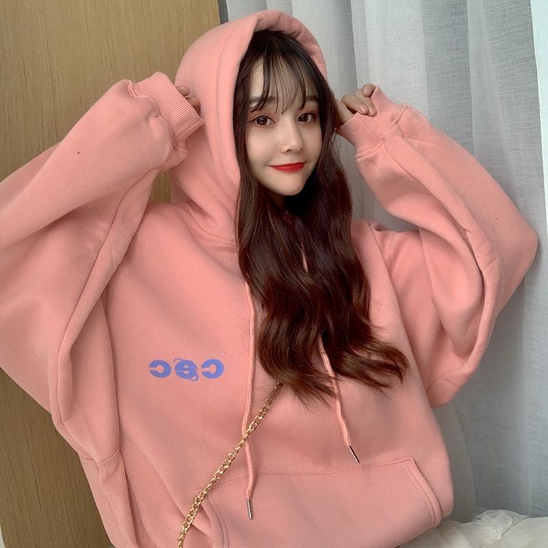 [Mã FASHIONCB82 hoàn tối đa 30K xu đơn 50K] Áo hoodie phong cách Hàn Quốc năng động trẻ trung dành cho nữ
