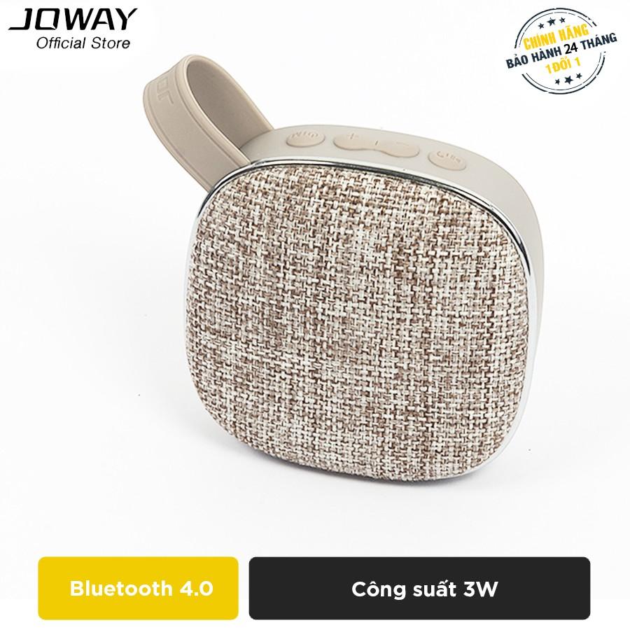 Loa Bluetooth JOWAY BM139 nhỏ gọn, âm thanh khủng - Hãng phân phối chính thức
