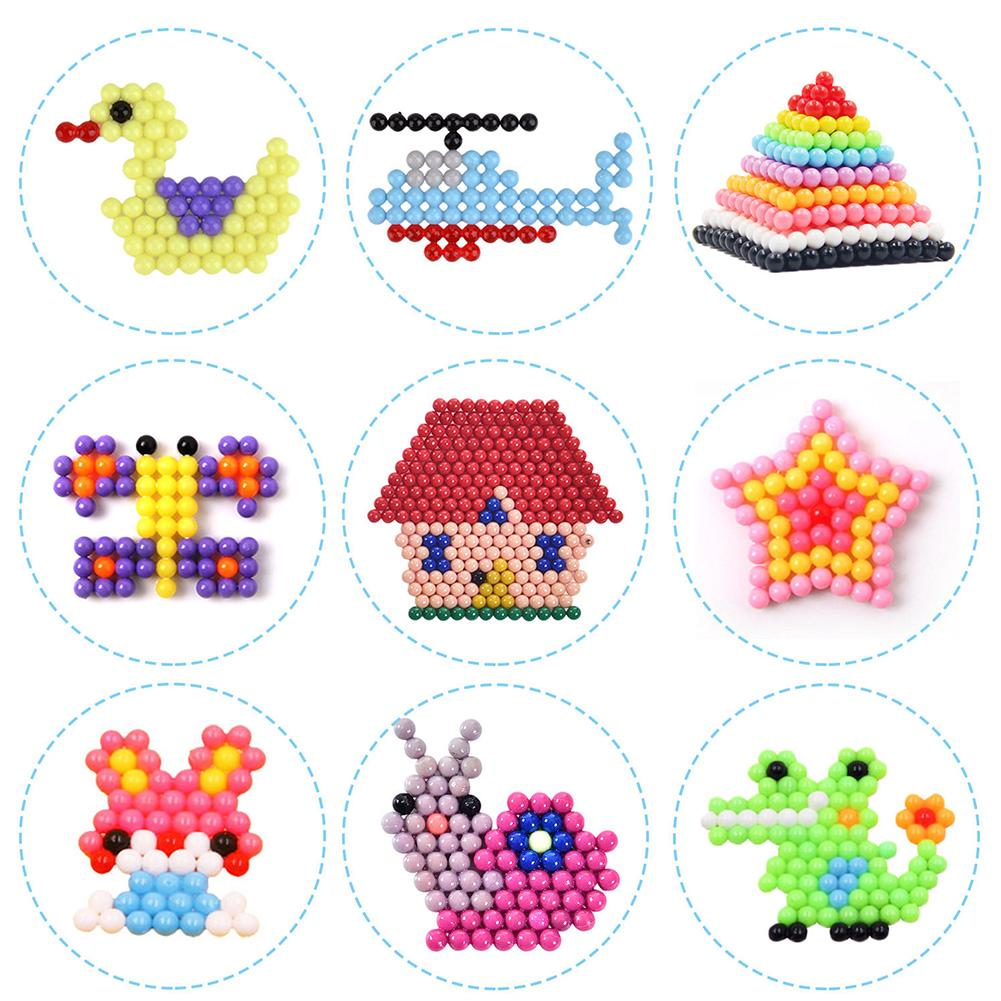 Toy Fuse Bead Kids DIY RFID Blocking PVA Sticky Educational Imagination Develop Water Spray