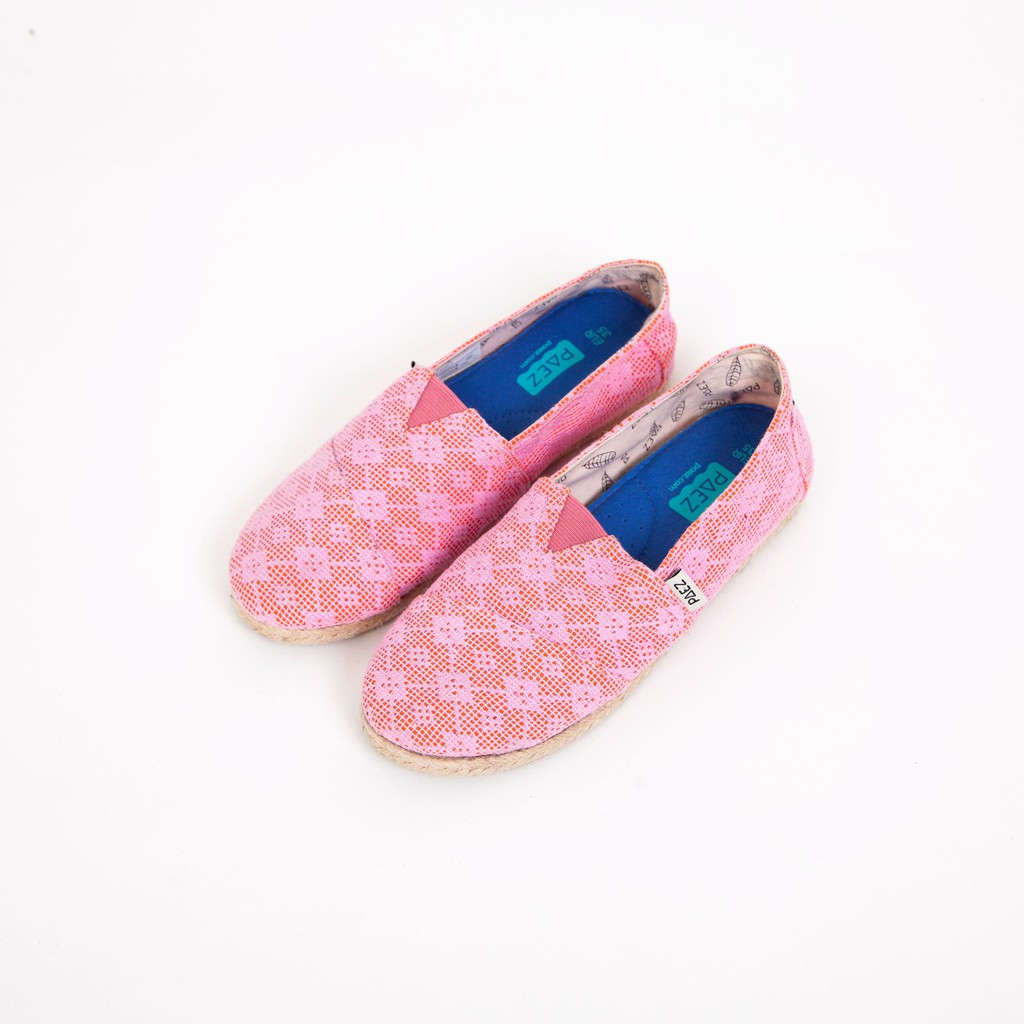 Giày Slip on nữ đế viền cối, mũi tròn