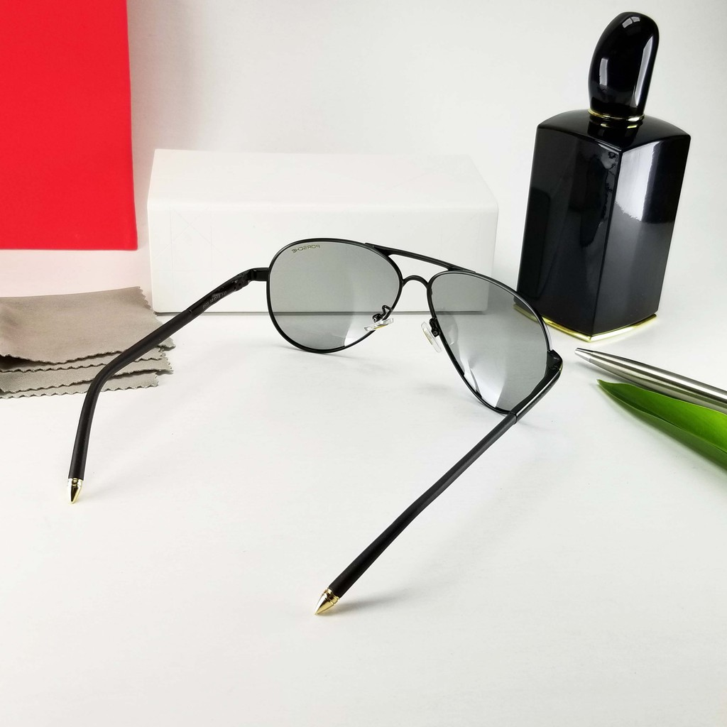 [Video test] Mắt kính mát nam đổi màu, tròng trong suốt - Chống nắng, tia UV - Bảo hộ