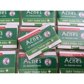 Giấy thấm dầu Acnes 50 tờ (Hàng mẫu) thumbnail
