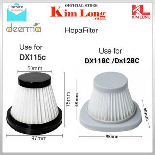 Bộ Lọc DEERMA DX115C / DX118C máy hút bụi cầm tay - CHÍNH HÃNG