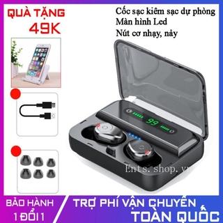 【COD】Tai Nghe Bluetooth Amoi F9 [Phiên bản nút cơ] - Tai nghe Bluetooth không dây F9, Tai nghe không dây,Tai nghe khong day,Tai nghe nhet tai khong day, Amoi F9,F9,V11,V12,V10 - Tonoto Store