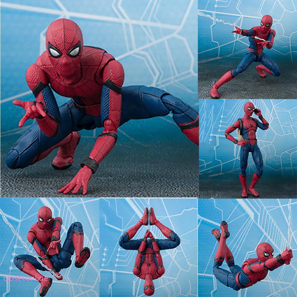 Mô hình spider-man Marvel dễ thương cho bé trai