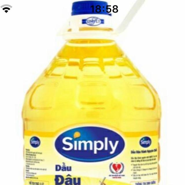 Dầu ăn simply 5lit
