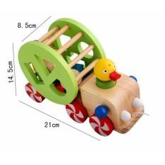 Xe vịt thả hình - Đồ chơi giáo dục an toàn cho bé