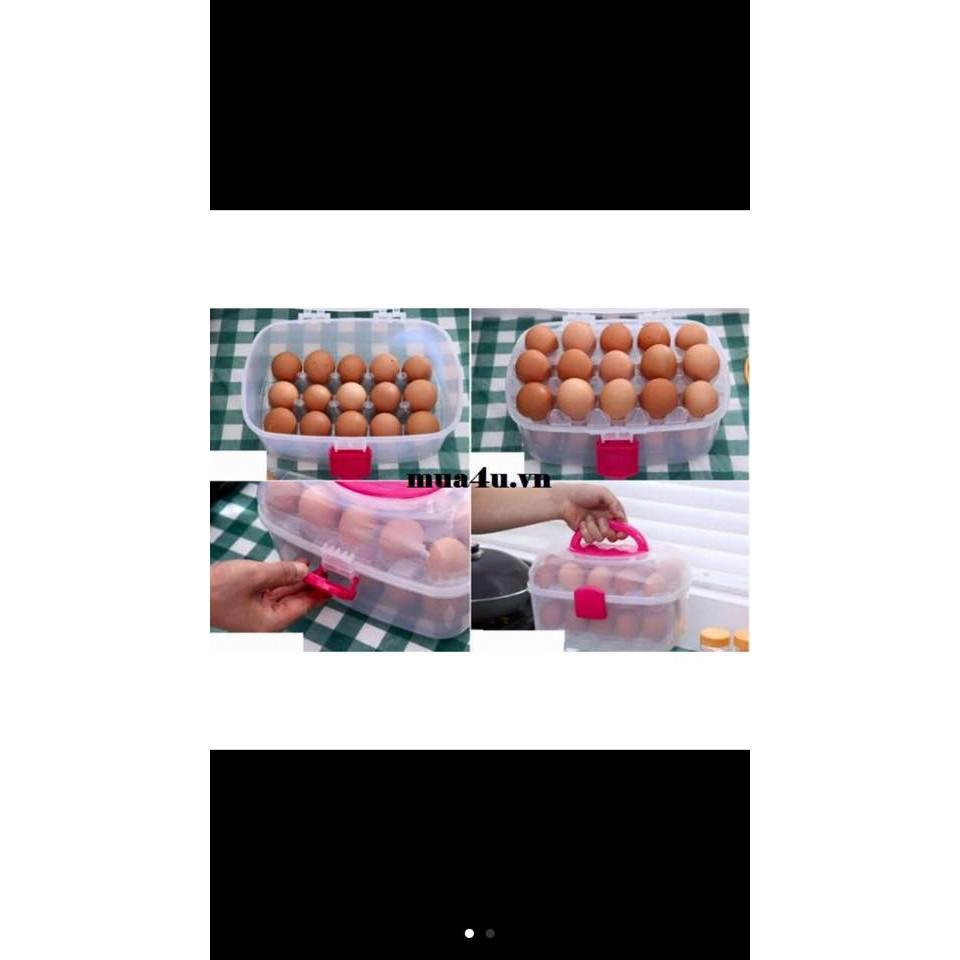 Hộp đựng trứng 2 tầng tiện lợi - 3600436 , 888119772 , 322_888119772 , 100000 , Hop-dung-trung-2-tang-tien-loi-322_888119772 , shopee.vn , Hộp đựng trứng 2 tầng tiện lợi