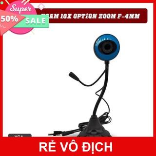 Webcam 480p HD Chân Cao Tròn -Có Mic