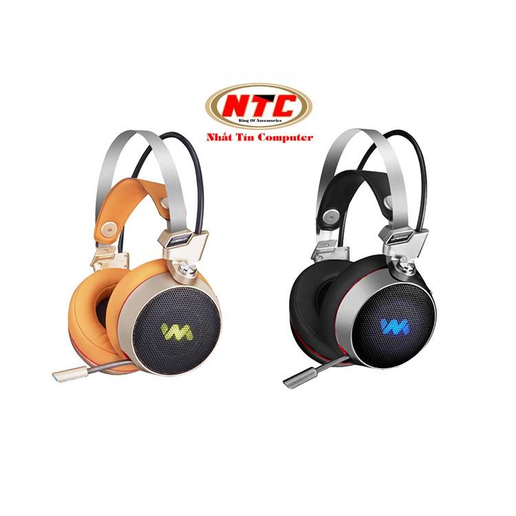 Tai nghe chụp tai chuyên Game Wangming WM-9300 7.1 Rung Led 7 màu