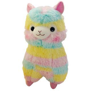 XH 20 cm bông mềm cầu vồng alpaca đồ chơi búp bê sang trọng trẻ em sinh nhật món quà Giáng sinh