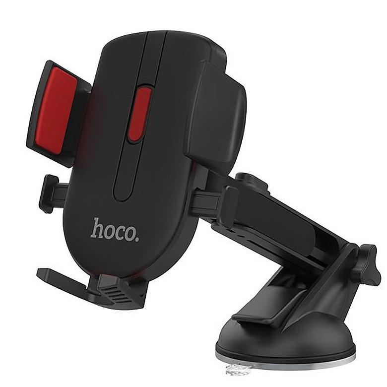 Giá đỡ điện thoại ô tô HOCO 3 Chân Xoay 360 độ -Hàng Chính Hãng [ Bảo hành 1 đổi 1]