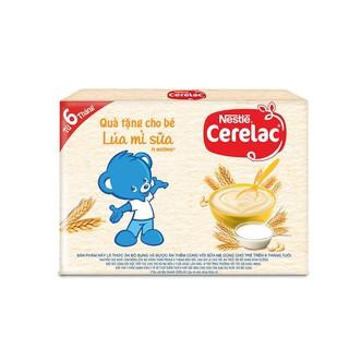 [MKB Gifts] Combo 2 Gói Bột Ăn Dặm Nestle CERELAC Lúa Mỳ Sữa Dinh Dưỡng 20g Gói thumbnail