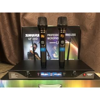 Thỏa sức ca hát karaoke với bộ micro Shu.re  ur 20d loại bỏ tạp âm tuyệt đối cho giọng hát trong trẻo bảo hành 12 tháng