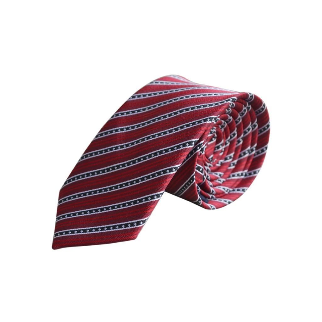 Cà vạt thời trang nam 31 Thanh Thư Shop (Tím)