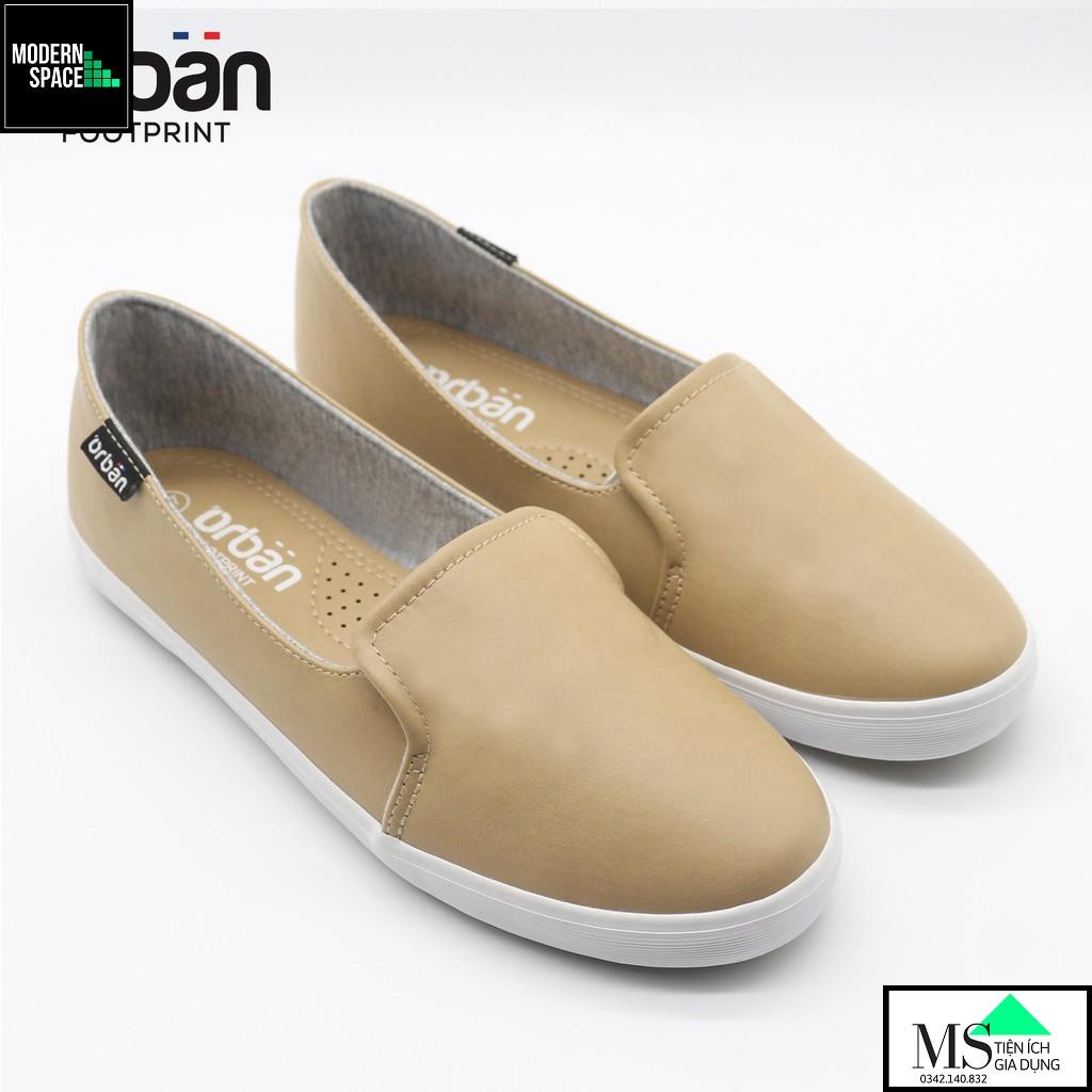 (GIÀY NỮ UDA) Giày da nữ Slip-on cao cấp Urban UL1930 [CHÍNH HÃNG]