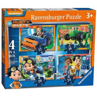 RV069835 Bộ xếp hình toàn cảnh Phim Rusty Rivets 04 Bộ 12/16/20/24p Ravensburger