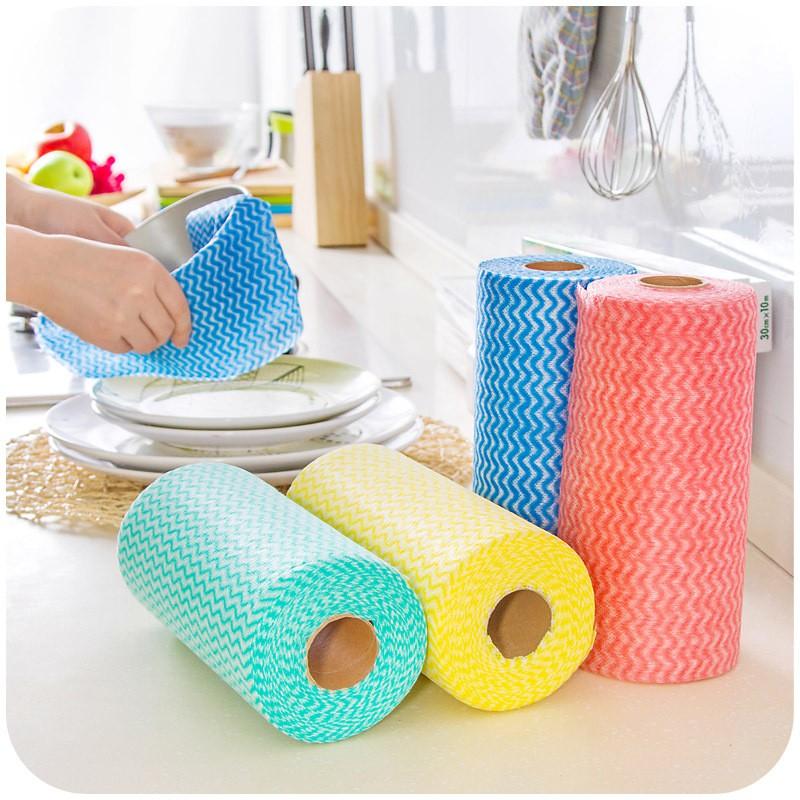 Cuộn khăn vải không dệt lau nhà bếp đa năng( 50 chiếc) - 3281960 , 790972457 , 322_790972457 , 40000 , Cuon-khan-vai-khong-det-lau-nha-bep-da-nang-50-chiec-322_790972457 , shopee.vn , Cuộn khăn vải không dệt lau nhà bếp đa năng( 50 chiếc)