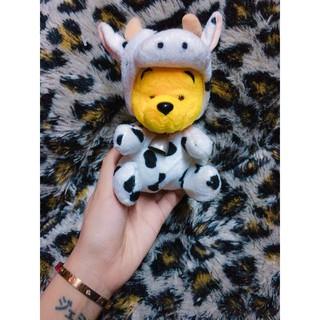 Gấu Pooh cosplay Bò sữa thumbnail