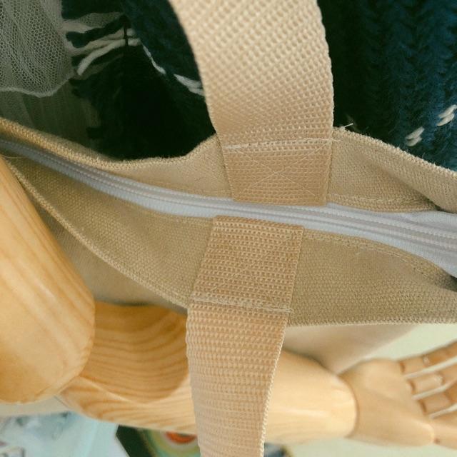Túi tote trơn ( tặng kèm icon ngẫu nhiên gắn túi)