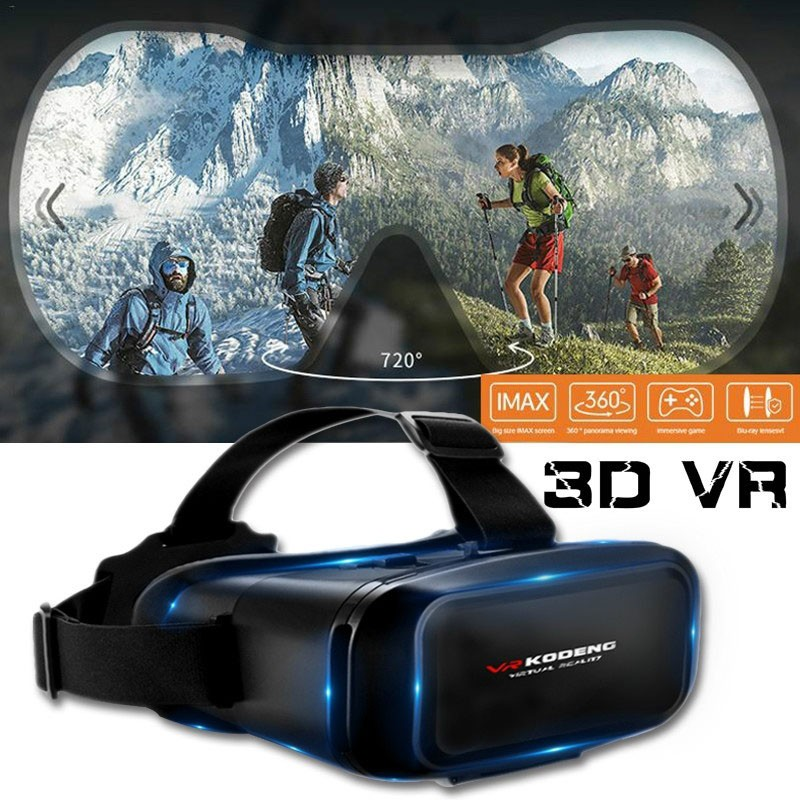 VR Headset Glasses KODENG Multifunctional 4.5~6inch Smartphone 3D VR Glasses KODENG Portable Movies