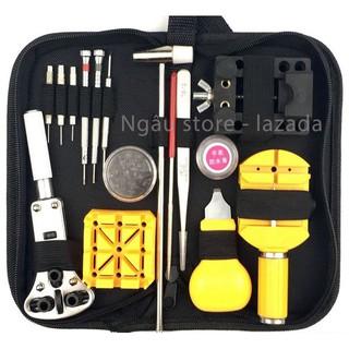 [Mã SR14MAY5 giảm 20K đơn 50K] Bộ dụng cụ đồ nghề sửa chữa tháo lắp đồng hồ - tặng mỡ chống nước