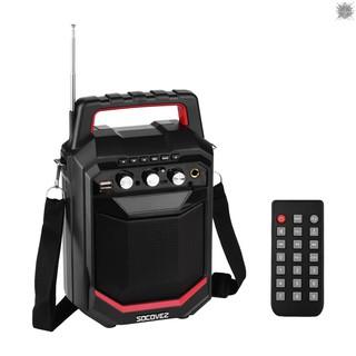 Loa Bluetooth Không Dây 20w Có Đèn Led Hỗ Trợ Pin 3600mah Kèm Phụ Kiện