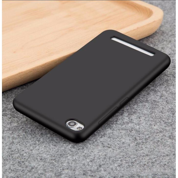 Xiaomi Redmi 4A - Ốp silicon đen đẹp