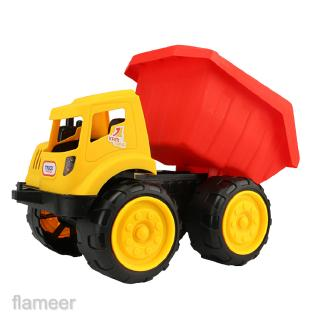 Push Around Sand Truck Model Figure Beach Toy for Kids-Dump Truck