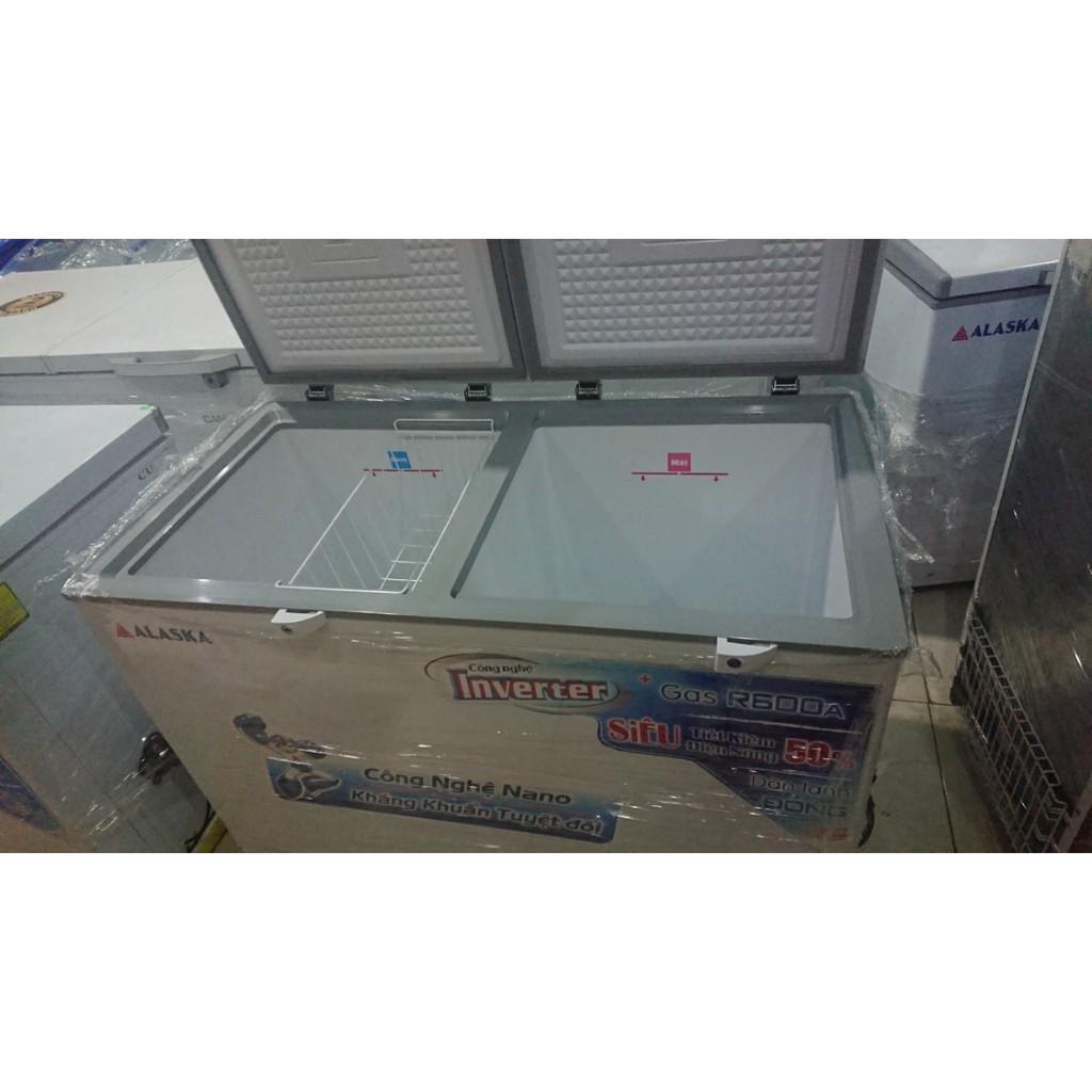 tủ đông alaska thanh lý hàng trưng bày lh 0968810979 trước khi đặt hàng  model 4600ci chính hãng 7,300,000đ