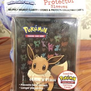 Bọc thẻ bài nhựa dành cho lá bài Pokemon TCG – EEVEE