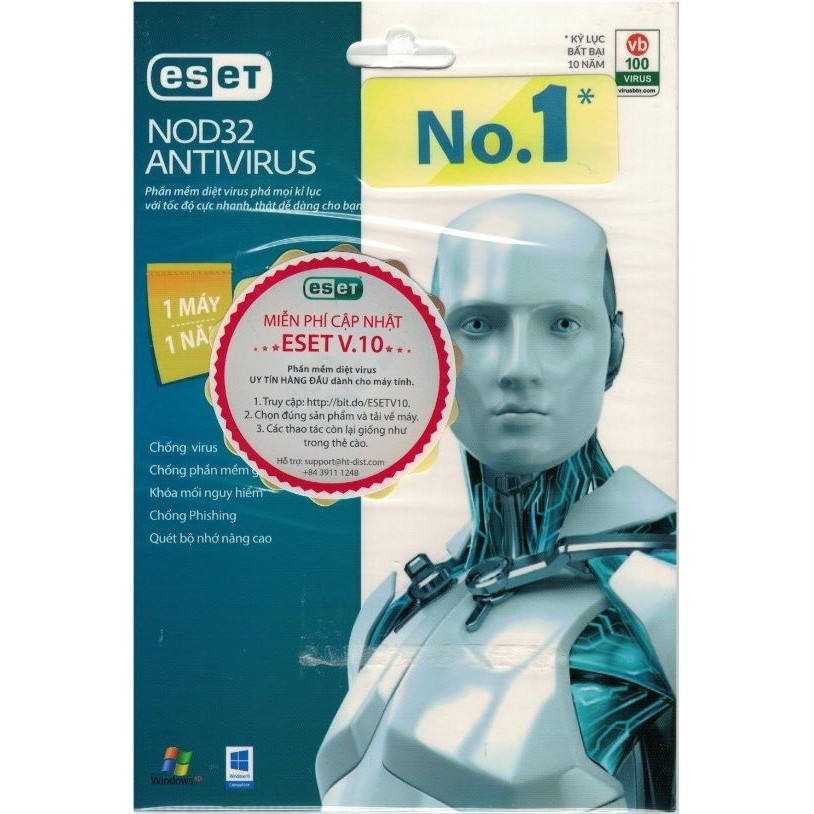 Phần mềm diệt virus ESET Nod32 Anti Virus (1PC / 1 năm) - 694462723,322_694462723,145000,shopee.vn,Phan-mem-diet-virus-ESET-Nod32-Anti-Virus-1PC--1-nam-322_694462723,Phần mềm diệt virus ESET Nod32 Anti Virus (1PC / 1 năm)