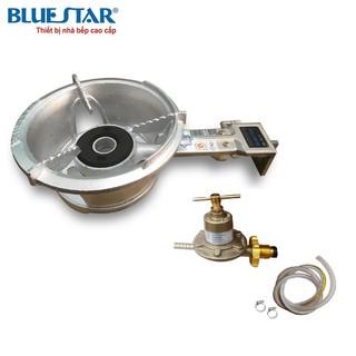 Combo Bếp khè gas công nghiệp Bluestar BS-5A1N (Cán Ngắn) + Bộ Van cao áp  SAWANA SW-999 và 1,5m Dây
