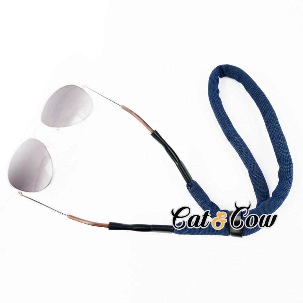 Cat & Cow รุ่น FC46-DB, #สายคล้องแว่นตา Eyewear Retainer สีน้ำเงินat & Cow รุ่น FC46-DB, #สายคล้องแว่นตา Eyewear