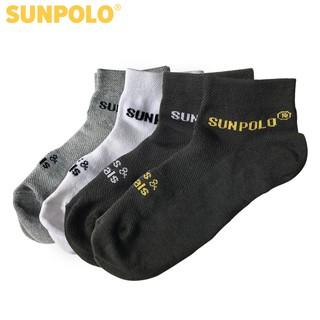 [Mã MSGMV1 hoàn 15% xu, tối đa 100K] Combo 3 đôi vớ nam cổ ngắn cotton SUNPOLO phiên bản màu ngẫu nhiên - SUV03M thumbnail