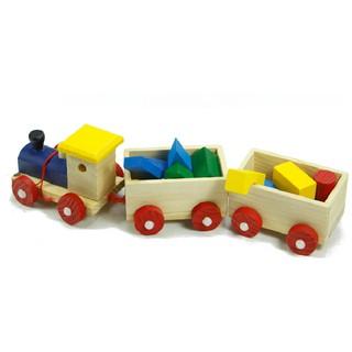 Xe lửa bằng gỗ