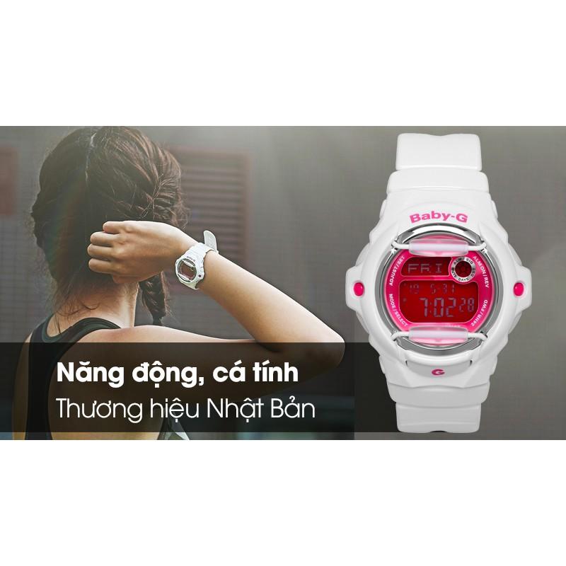 Đồng hồ Nữ Casio Baby-G BG-169R-7DDR - quartz -10ATM